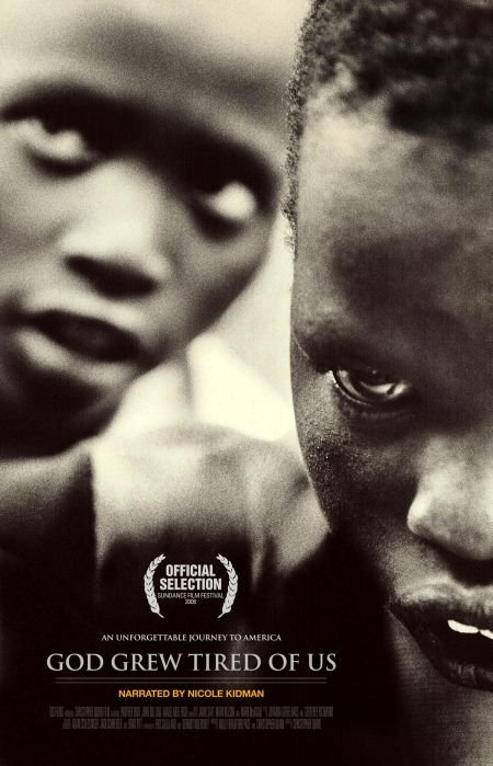 "god grew tired of us essay This essay analyzes the film ""god grew tired of us"", about three of the lost boys of sudan"" to demonstrate the different aspect of culture including its powers and the remarkable phenomenon that most of the time go unnoticed (bul dau & sweeney, 2008."